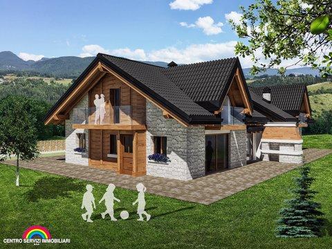 Casa Bi/Trifamiliare in vendita in Via dante alighieri a Canove di Roana